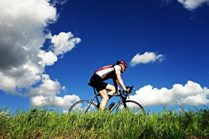 racefietser in nederland