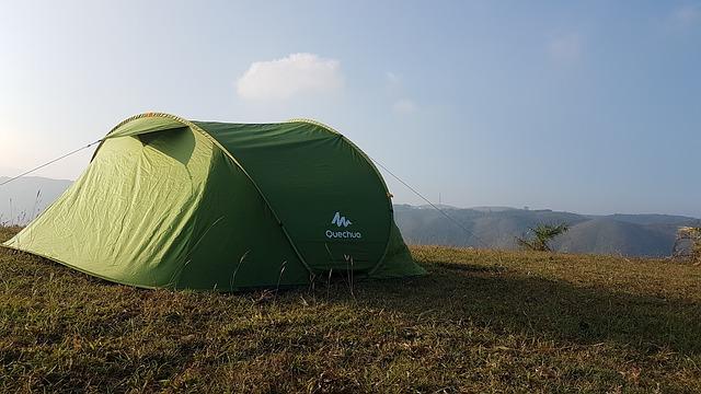 Quechua tent outdoor