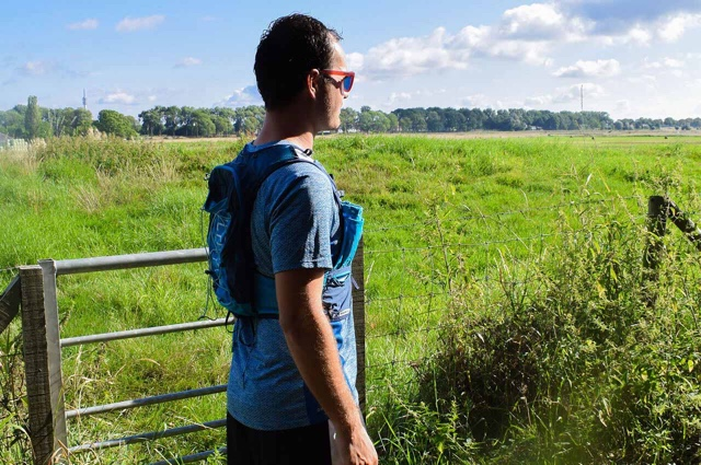 Trailrunner Wim Groenendijk