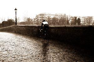 spatbord racefiets regen